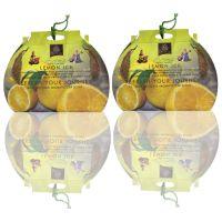 Diviniti Lemon Ice Fragnance Car Air Freshner Combo Set Of 2 Pcs