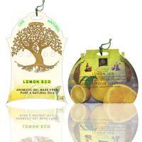 Diviniti Lemon Ice And Lemon Eco Fragnance Car Air Freshner Combo Set Of 2 Pcs