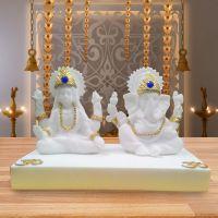 Diviniti Lakshmi Ganesha White