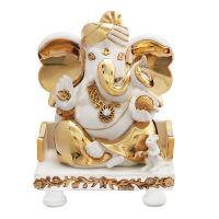 Diviniti Ganesha White And Gold
