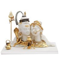Diviniti Shiva Prawati White And Gold