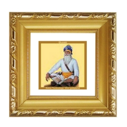 DG FRAME 103 SIZE 1A CLASSIC GOLD SQUARE BABA DEEP SINGH