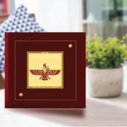 Diviniti MDF Photo Frame Gold Plated Normal Foil Ashofarohar (MDF-1A)
