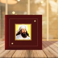 Diviniti MDF Photo Frame Gold Plated Normal Foil Saint Zorashtra (MDF-1A)