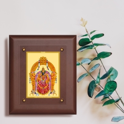 Diviniti MDF Wall Hanging Frame Gold Plated Normal Foil Padmavati (MDF-2.5)